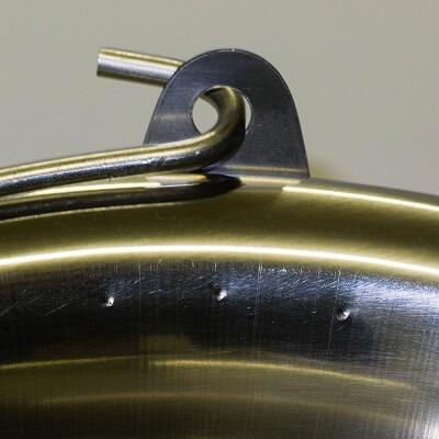 Nerezový kotlík - stará obruč